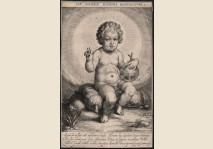 Infant Jesus with globe