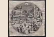 Hans Bol - Aprilis - 1580