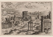 Colosseum and ruins - 1551