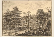 VAN BEMMEL - LANDSCAPE WITH A STREAM