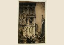 Brangwyn - Browning's House - Venice