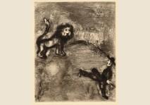 Chagall- Lion et Chasseurs